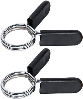 comprar comparacion Latinaric Pinzas para sujetar los discos a las barras, bloqueadores para pesas, abrazaderas para Barras de mancuerna para ...