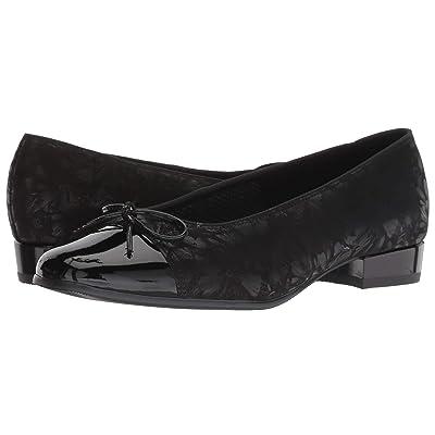 ara Bel (Black Dragonfly/Patent Toe) Women