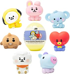 Hamee LINE Friends BT21 (Baby) [Surprise Capsule Series] Cute Water Filled Squishy Toy [Birthday Gift Bags, Party Favors, Gift Basket Filler, Stress Relief Toys] - 1 Pc. (Mystery - Blind Capsule)