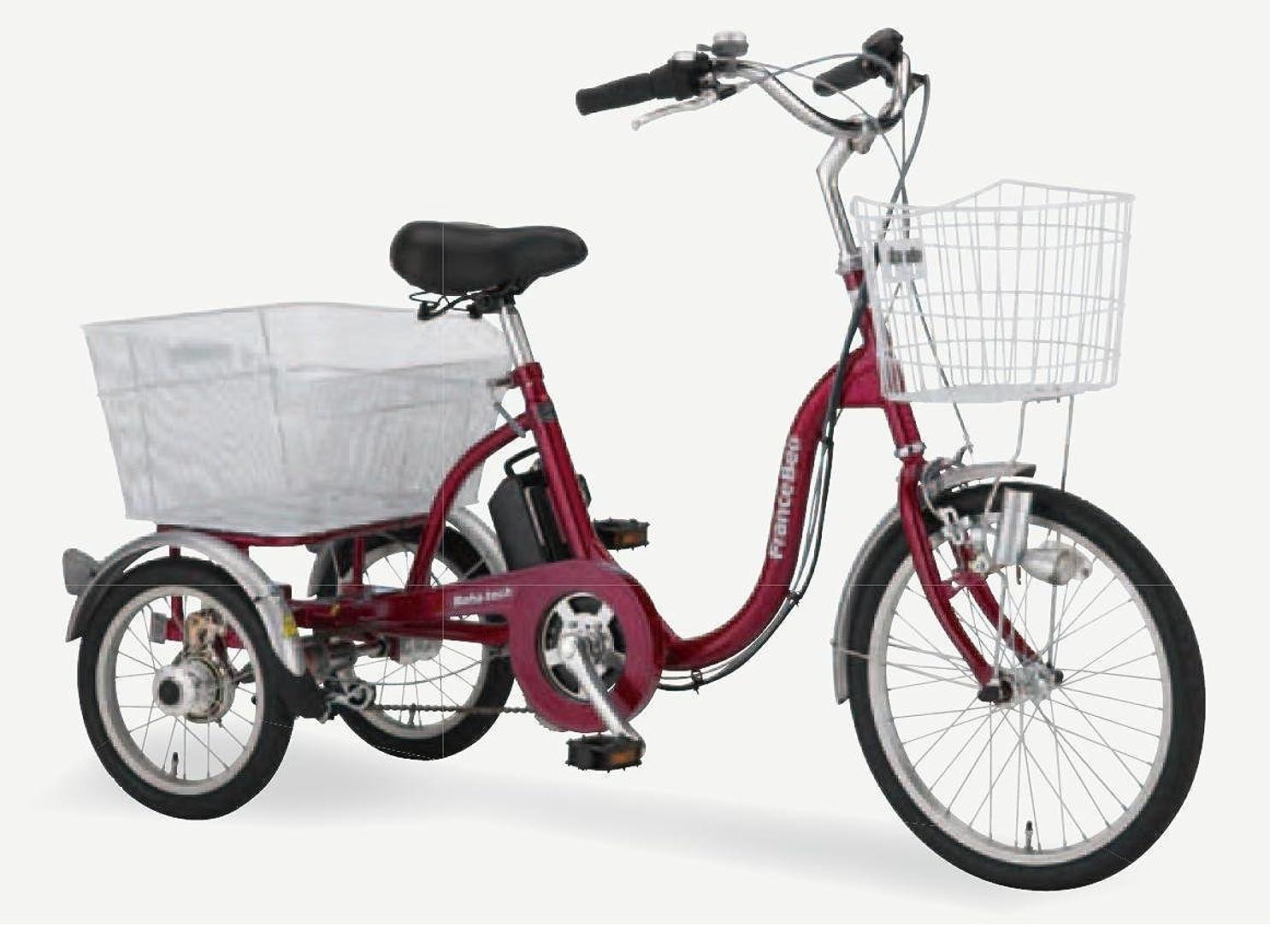 医療過誤ステープル豊富なフランスベッド メディカルサービス ReHaTech リハテック シリーズ 電動アシスト3輪自転車 ASU-3W01