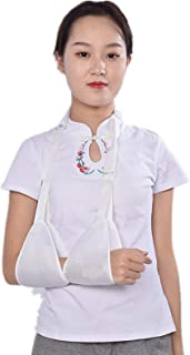 Soporte de cabestrillo para brazo cabestrillo de hombro ajustable para brazo fracturado codo muñeca soporte de franja inmo...