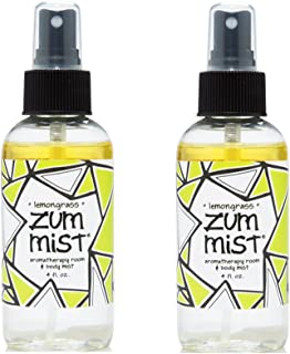 Zum Mist Aromatherapy Room and Body Spray Lemongrass -- 4 fl oz - 2pc