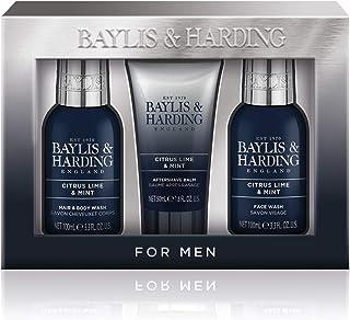 Baylis & Harding Men's Citrus Lime & Mint Small 3 Piece Set, 0.4 kilograms