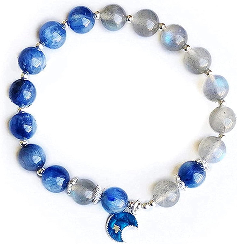 String Bracelets overseas S925 Silver Natural Kyanite Shui Feng 70% OFF Outlet Bracelet
