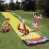 ADHW Swimming Pool 1Ice Breaker Water Slide Wasserrutschbahn mit Surfboard Wasserrutsche Wasserbahn...