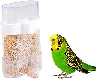 Balacoo Thicker Bird Cage Water Bottle Dispenser Feeder Taza de alimentación automática para Bird Finch Canary Budgie Cock...