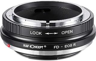 K&F Concept KF-FDRF マウントアダプター [レンズ側:キヤノンFD ボディ側:キヤノンRF]