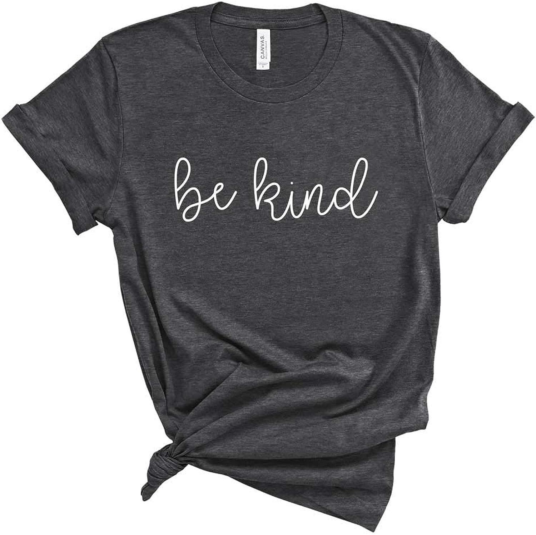 bluee Sand Textiles Be Kind Shirt. Kindness TShirt. Super Soft and Comfortable Unisex Shirt. Humanity Shirt.