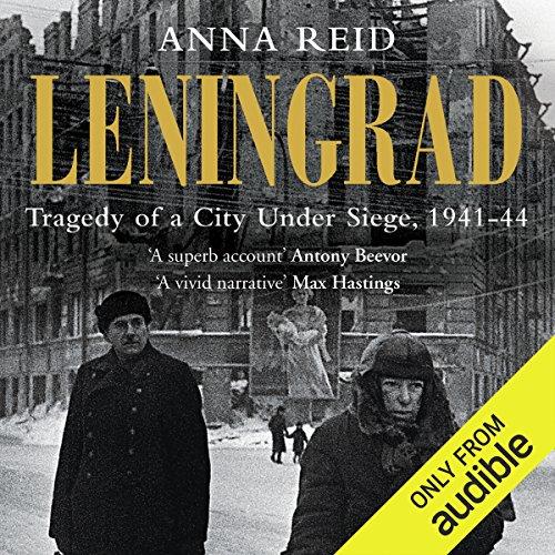 Leningrad audiobook cover art