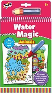 Galt A3079H - Magic with Water - Colouring Books Animals