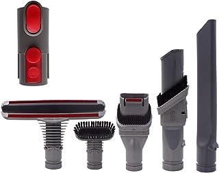 ダイソン(Dyson) 対応付属へッドツールキット添付アダプター, ダイソン V6 V7 V8 V10 V11シリーズ 掃除機パーツアタッチメント(6点セット) (V+D(6点セット))