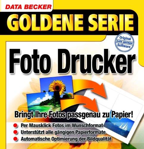 Foto Drucker, 1 CD-ROM Bringt Ihre Fotos passgenau zu Papier! Für Windows 95/98(SE)/ME/NT4(SP6)/2000