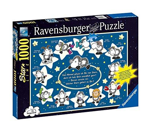 Ravensburger 16068 - Puzzle de 1000 Piezas, diseño de Las ovejitas del Zodiaco