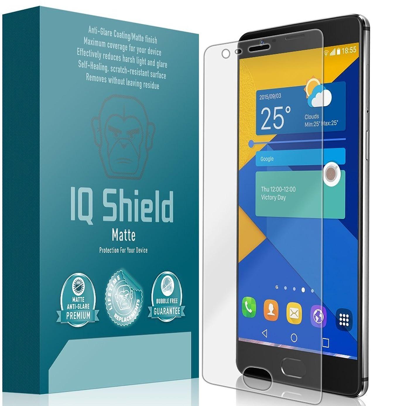 OnePlus 3 Screen Protector, IQ Shield Matte Full Coverage Anti-Glare Screen Protector for One Plus 3 Bubble-Free Film