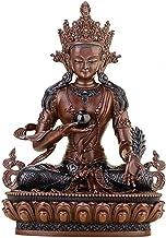 PPCP Decorative Brass Sculpture, Buddha Statue of The Jizo King, Buddhist Temple Decoration, Desktop Research Works, Symbo...