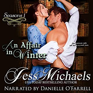 An Affair in Winter audiobook cover art