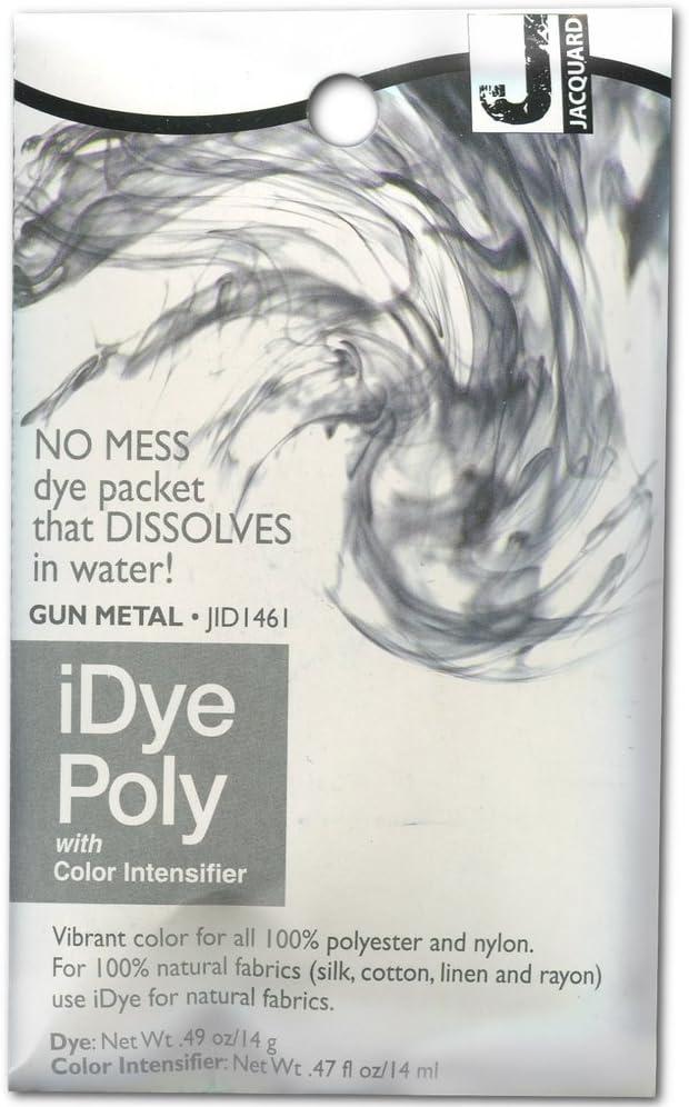 Jacquard iDye Fabric Bombing free shipping Dye 14 For Metal Discount is also underway Polyester Nylon Grams-Gun