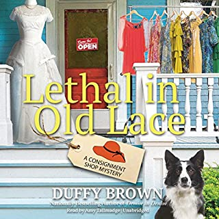 Lethal in Old Lace audiobook cover art