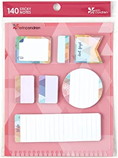 Erin Condren Designer Accessories Snap-in StylizedSticky Notes - Triangle Overlay Design Theme