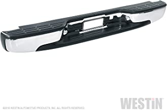 Fey 31006 Perfect Match Custom Fit Chrome Replacement Rear Bumper with Mounting Brackets