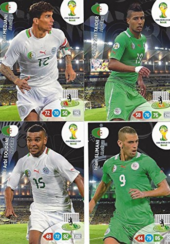 FIFA World Cup 2014 Brazil Adrenalyn XL Algeria (Algerie) Ba