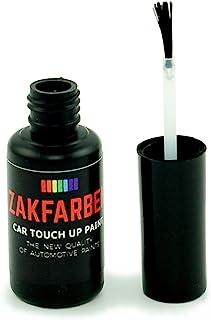 Zakfarben Car Touch Up Corrector de Pintura para 313, 857S, GJG 857S, GJG Glacier Silver Metallic 10 ml