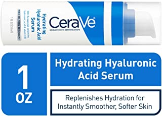 CeraVe Hyaluronic Acid Face Serum | 1 oz | Hydrating Serum for Face with Vitamin B5 | For Normal to Dry Skin | Paraben & F...