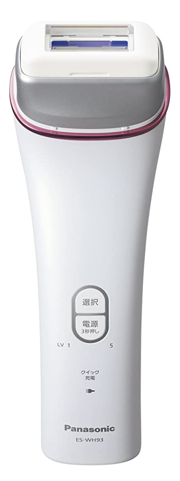 細菌膨らませる食欲パナソニック 光美容器 光エステ ボディ&フェイス用 ピンク調 ES-WH93-P