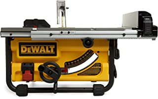 DeWalt 10 inch Compact Job Site Table Saw with Site Pro Modular Guarding System - DW745