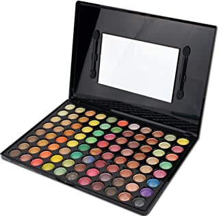 Pure Vie Professional 88 Colors EyeShadow Palette Makeup Contouring Kit #6 - Perfect for Professional as well as Personal Use