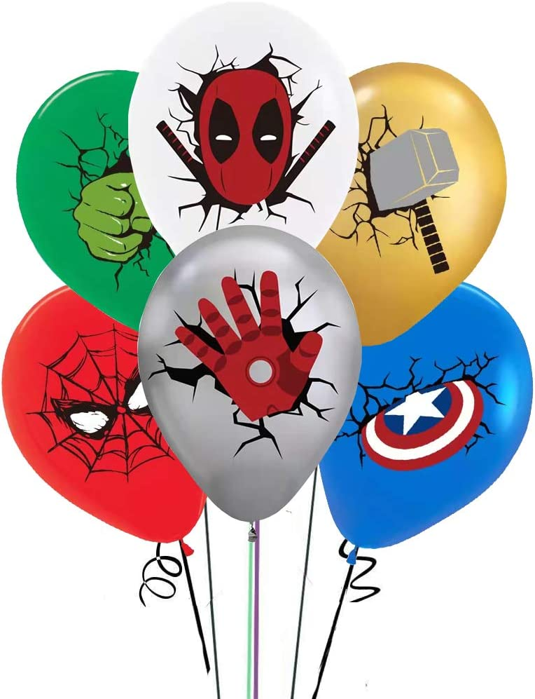 Corelkor Ranking integrated 1st Price reduction place Superhero party supplies balloons by latex made natural