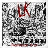 Lik 'Misanthropic Breed' LP Red Vinyl