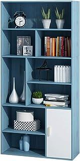 Amazon Fr Meuble Rangement Bureau Bleu