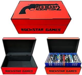 Porta jogos Playstation e Xbox One Red Dead Redemption 2 (20 jogos)