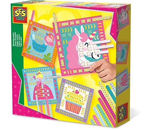 SES Nederland b.v. 14101 HobbyHobby Girls Papier weben,