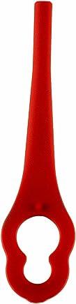Einhell 3405730 Ersatzmesser-Set GE-CT 18 Li Rasentrimmer-Zubehör, Rot