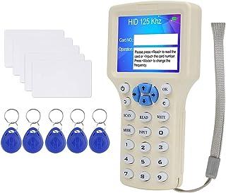 NS208 LUCINA Duplicadora RFID Copiadora de tarjeta clave de 125KHz Lector de tarjeta inteligente superfluido RFID Programador encriptado 13.56MHz USB UID T5577