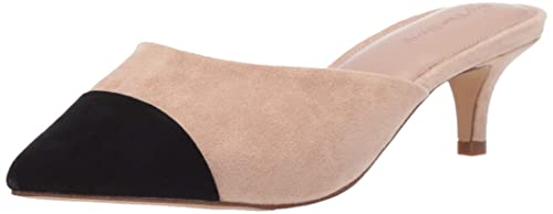 The Drop Women's Paulina Pointed Toe Two-Tone Mule