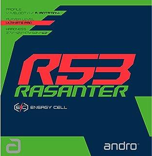 アンドロ(andro)テンション系裏ソフトラバー ラザンター アール53RASANTER R53 卓球 ガツト・ラバー 112292-BK