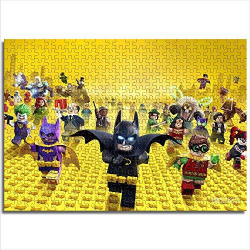 CELLYONE Puzzles MEEKIS pour Adultes Mini 1000 pièces Lego Batman Movie Jeux éducatifs, Puzzle pour Enfants