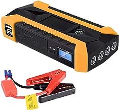 Ranoff Car Emergency Start Power 89800mAh 12V LCD 4 USB Car Jump Starter Pack Booster Charger Battery Power Bank