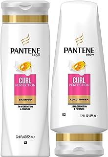 Pantene Pro V Curl Perfection Moisturizing Shampoo and Conditioner Set 12.6 Oz.
