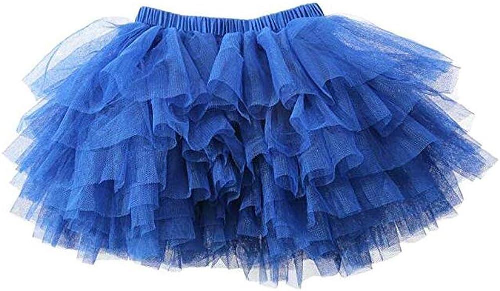 Baby Girls Tutu Skirt Toddler 6 Layered Tulle Tutu Skirt Baby Girl Outfit