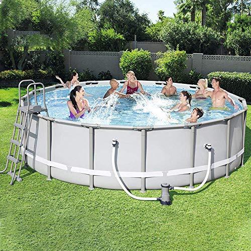 Rahmen Pools, Swimmingpool Blow Up Pool für Familien Kinder Hinterhof Faltbarer Pool Family Time Garden Swimmingpool