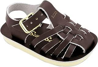 Salt Water Sandals Baby-Girls 4202B04 Sun-san Sailor 4 Toddler Brown