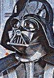 Star Wars 1000 Piece Jigsaw Puzzle Darth Vader (Photo Mosaic) (51x73.5cm)