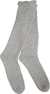 Calcetines de Alpaca -100% Alpaca - Fabricados en Peru - Gris Claro