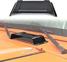 AVOMAR Black Heater Air Cowl Vent Hood Scoop for 2007-2017 Jeep Wrangler JK