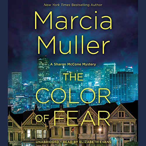 The Color of Fear audiobook cover art