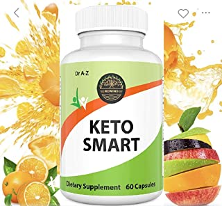 Smart Keto Slim, Nature's Pure Keto Diet Pills - Ketosis Supplement to Burn Fat Fast - Ketogenic Carb Blocker - Best Keto ...